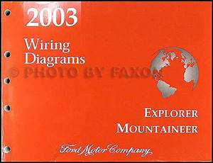 2003 Mountaineer And Explorer 4 Door Wiring Diagram Manual