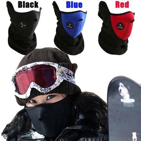 Dustproof Neoprene Neck Warm Half Face Mask Winter Sport