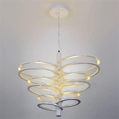 kitchen led lighting modern multi rings led chandelier contemporary 2135