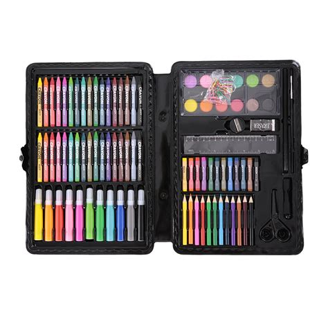 pcs art drawing kit kids painting set pencils crayons