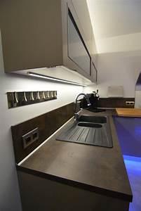 Eclairage Led Pour Cuisine : eclairage led cuisine connect elec l 39 lectricit connect e ~ Preciouscoupons.com Idées de Décoration