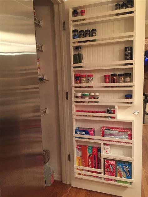 diy pantry door spice rack diy pantry door spice rack pantry door storage