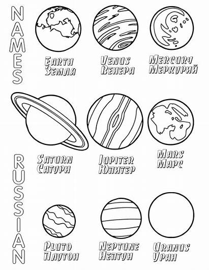 Solar System Coloring Pages Sheets Printable Inspirations