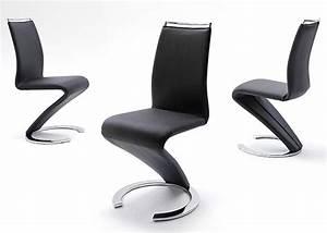 Chaise Noire Design : chaise cuir design pas cher id es de d coration int rieure french decor ~ Teatrodelosmanantiales.com Idées de Décoration
