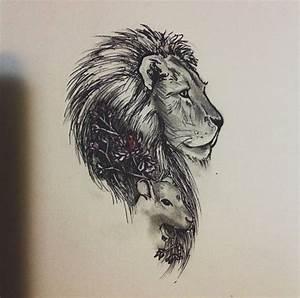 lion and lamb tattoo - Google Search | Tattoos | Pinterest ...