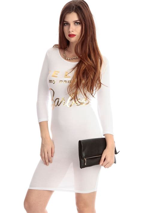 CiCi Hot Starts Selling Gorgeous White Club Dresses for Informal Events -- CiCiHot | PRLog