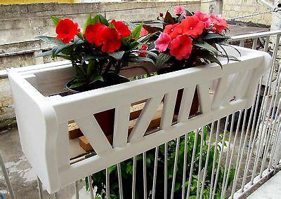 portavasi da ringhiera fioriera da balcone portavasi balconiera portafiori