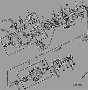 Hydraulic Head And Drive Shaft  Roto