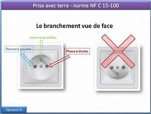Branchement D Une Prise : comment brancher une prise electrique lectricit maison ~ Dailycaller-alerts.com Idées de Décoration