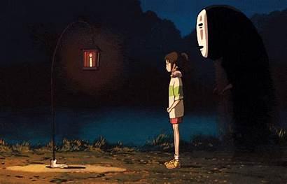 Spirited Away Chihiro Kaonashi Anime Ghibli Japanese