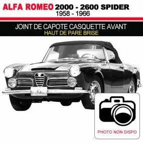 Casquette Alfa Romeo : capote alfa romeo 2000 spider cabriolet en alpaga ~ Nature-et-papiers.com Idées de Décoration