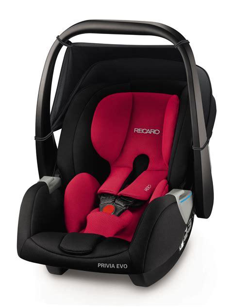 Recaro Infant Car Seat Privia Evo 2018 Racing Red  Buy At