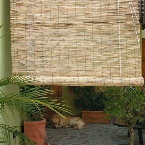 store en bambou naturel reli 233 par fil en avec poulie cm 150x300 stores bois bambou