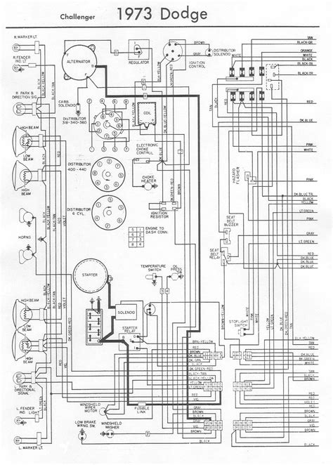 1973 dodge challenger wiring diagram 36 wiring diagram