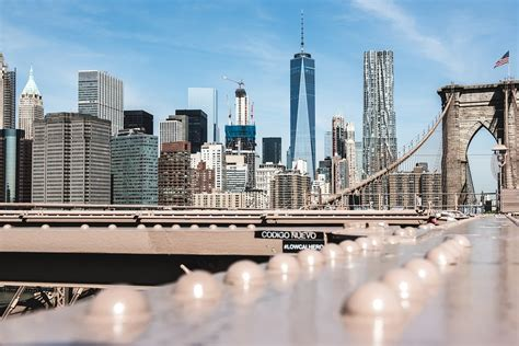 photo brooklyn bridge manhattan usa  york max pixel