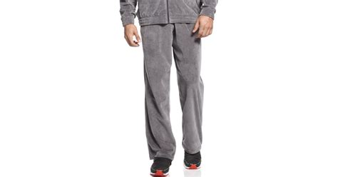 Find this pin and more on ferrari by futureway. PUMA Ferrari Lifestyle Velour Track Pants in Gray for Men ...
