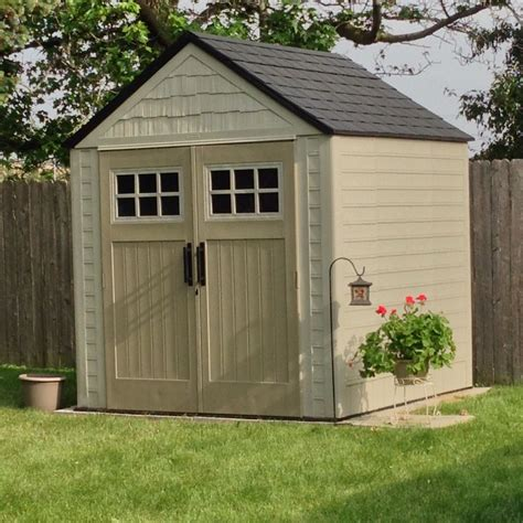 shed 7x7 rubbermaid big max storage shed 7x7 gardening in 2019