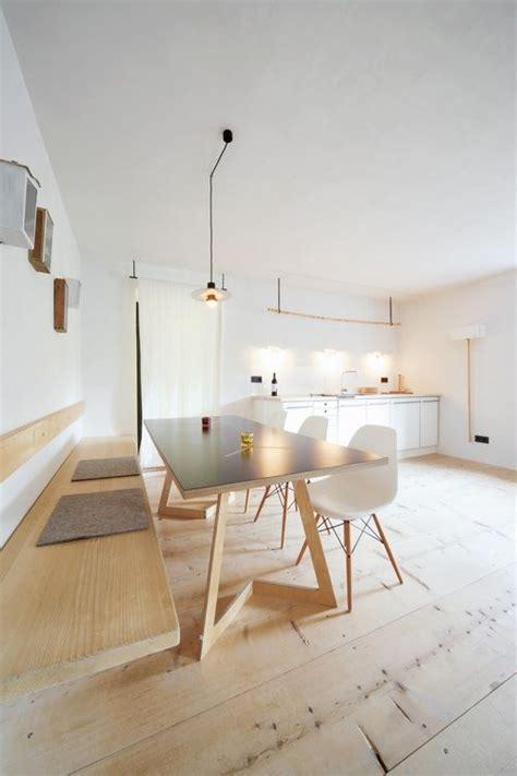 banc de cuisine design banc dans cuisine equipee toute blanche contemporaine deco