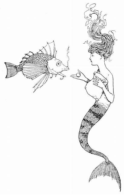 Mermaid Fairy Robinson Andersen Skit Tales