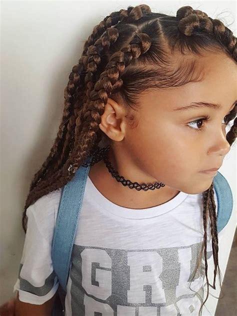 trendy braids  kids  tutorials  images
