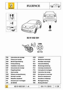 2015 Fluence Tow Bar Wiring Harness 7b Led Version Pdf  3