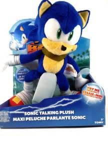 Boom Sonic the Hedgehog Talking Plush Toys