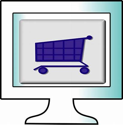 Shopping Clipart Clip Line Computer Cliparts Clker