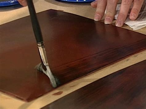 how to create a faux mahogany finish how tos diy