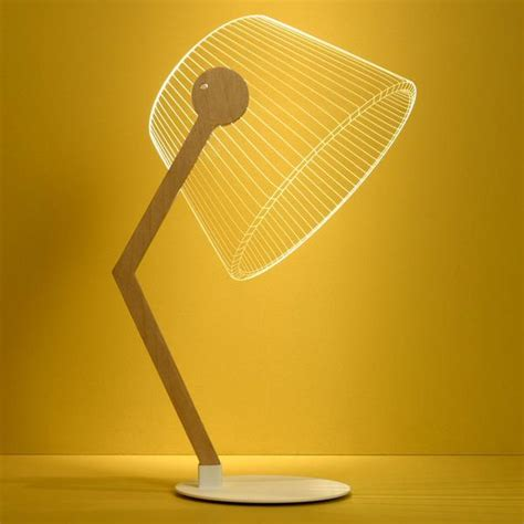 bulbing ziggi lamp optical illusion alluring  light