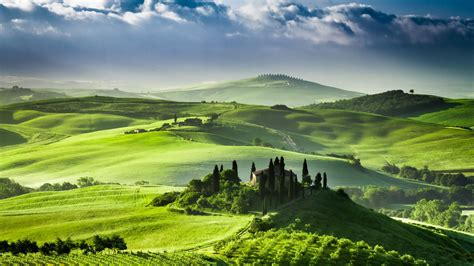 Green Landscape Italy Wallpapers And Images Wallpapers