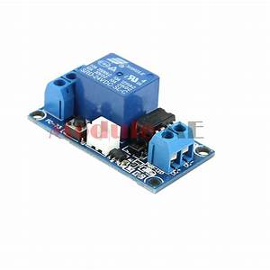24v 1 Channel Latching Relay Module With Touch Bistable