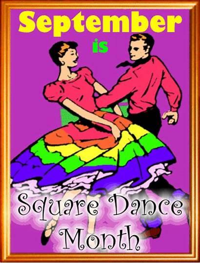 Month Square Dance September Greetings