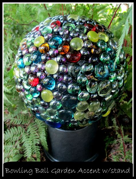 hometalk easy diy project bowling ball garden accent