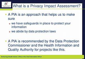 Individual health identifier ireland privacy impact for Privacy impact assessment template