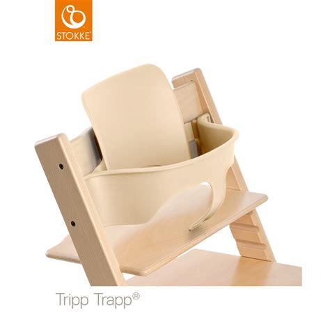 siege tripp trapp fauteuil bébé tripp trapp baby set naturel de stokke en