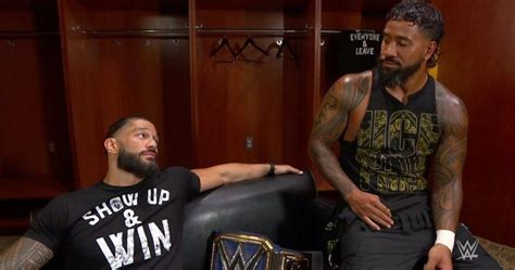 jey uso teases  heel faction  roman reigns promises ring gear change   clash