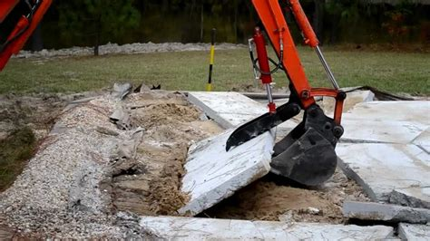 usa attachments mini excavator thumb youtube