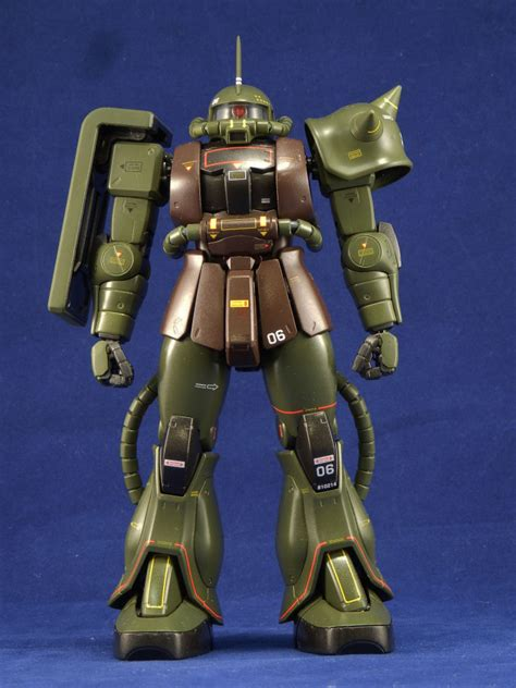 mg  ms  zaku ver real type color photoreview