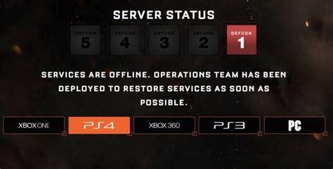 black ops  servers   ps xbox   defcon