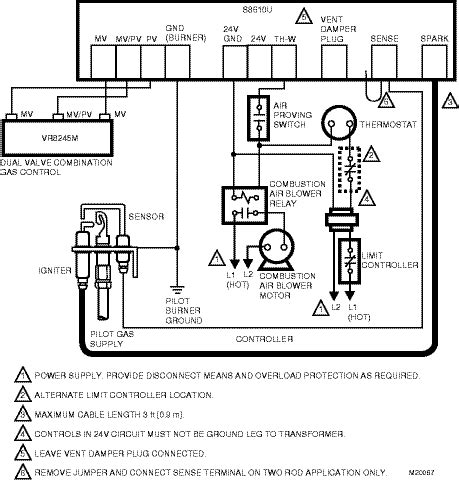 White Rodger Ignition Wiring Diagram by Hvac Power Issue With Hwb Furnace Stumped Hvac
