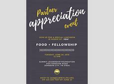 Partner Appreciation Event