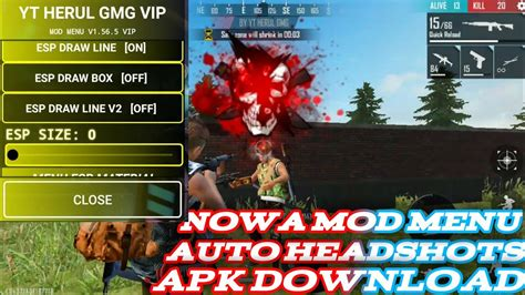 This is free fire max, the same battle royale, but specially developed for android devices with better graphics. Nowa Mod Menu Free Fire APK Download link MrDarkRx And ...