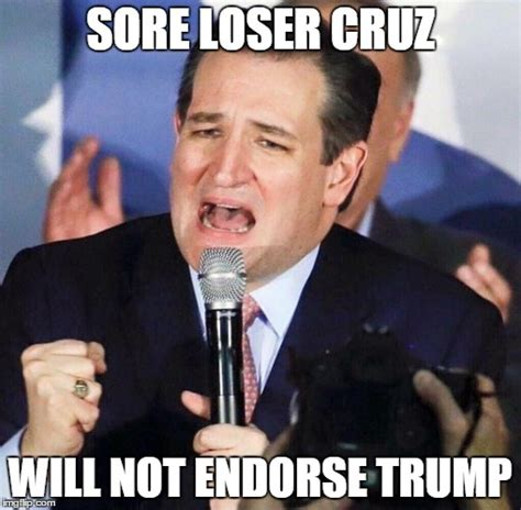 Loser Meme - ted cruz singing imgflip