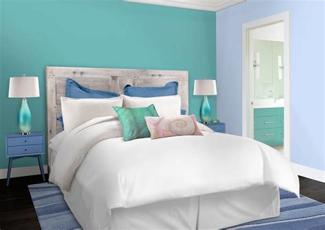 peinture chambre bleu turquoise 6 stunning deco chambres