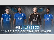 Leicester City Jersey 20172018 Home Away And Third Kits
