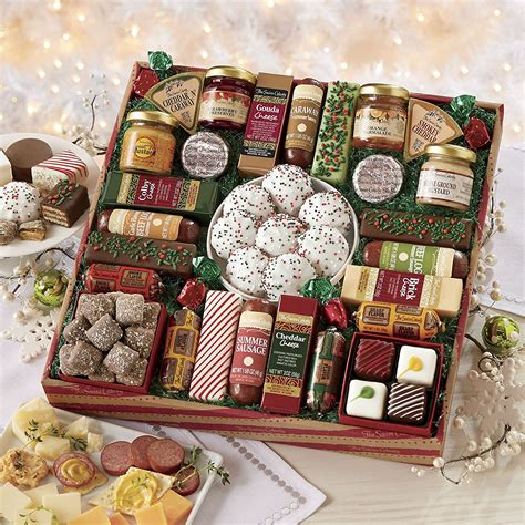 seafood christmas gifts gourmet food gift baskets best cheeses sausages seafood gift ideas 2018 new updated