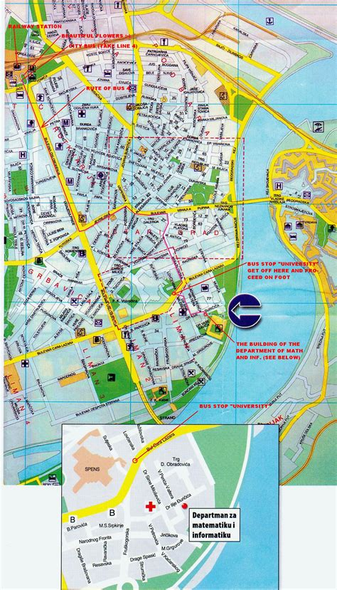 novi sad city map novi sad serbia mappery
