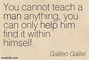 galileo quotes ... Balanced Education Quotes