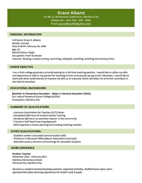 contoh resume bahasa indonesia  inggris contoh resume