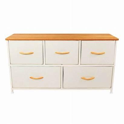 Wooden Bins Dresser Bedroom Drawer Fabric Closets